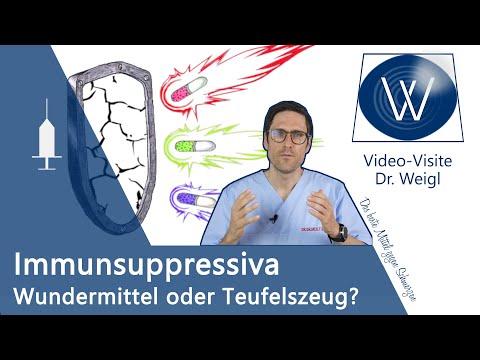 Immunsuppressiva bei Autoimmunerkrankungen & chronisch-entzündlicher Erkrankung: gut oder schlecht?