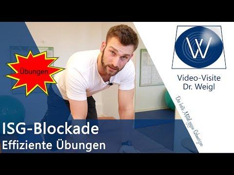 ISG Blockade selbst lösen ✅ Ganz einfach & sofort Iliosakralgelenk Schmerzen weg mit Physiotherapie
