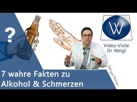 Alkohol & Schmerzen: Was passiert in meinem Gehirn & Körper?Was hat Alkoholschmerz mit Krebs zu tun?