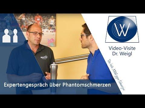 Phantomschmerz - Was ist das? Phantomschmerzen nach Amputation: Ursachen und Therapie // Interview