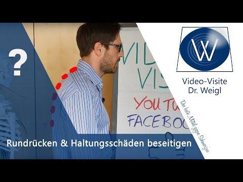 Morbus Bechterew & Scheuermann: Rundrücken, Geierhals & Hohlkreuz wegtrainieren: Haltungstest, Übung