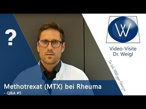 Nutzt Methotrexat bei Rheuma? Autoimmunerkrankung Rheumatoide Arthritis medikamentös behandeln (MTX)