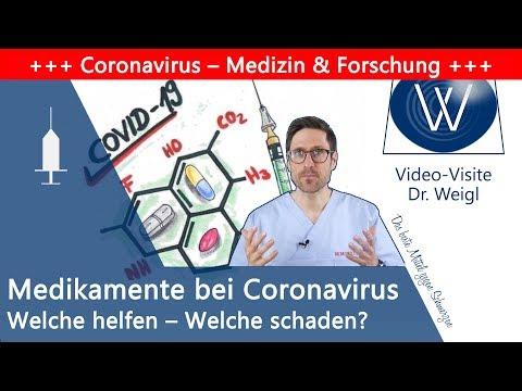 Welche Medikamente helfen bei Covid-19? Sind Remdesivir, Hydroxychloroquin gut oder gefährlich?