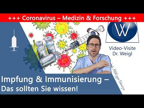 Impfen: Wie schützt uns eine Impfung? Wie bekommen wir eine Immunisierung & Schutz vor Infektionen?