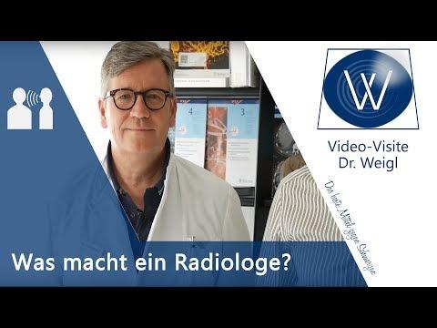 Fragen an einen Radiologen: Was macht ein Radiologe? Was unterscheidet Röntgen vom MRT und vom CT?