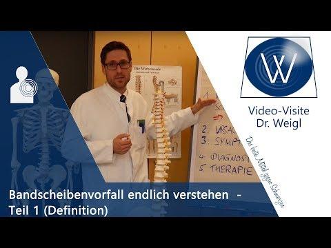 Bandscheibenvorfall: Was sind Prolaps, Protrusion & die Bandscheiben? Spezifischer Rückenschmerz