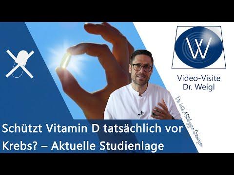 Schützt & heilt Vitamin D Krankheiten wie Krebs?⏩ Würdigung von Prof. Jörg Spitz & aktuelle Studien