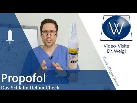 Narkotikum Propofol - Gefährliches Narkosemittel zur Sedierung & Narkose? Wirkung & Nebenwirkungen