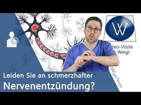 Nervenentzündung – Schädigt eine Entzündung die Nerven & das Gehirn? Neuritis Symptome & Therapie