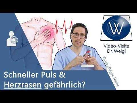 Schneller Puls und Herzrasen (Tachykardie) 💗 Diese Ursachen und Gefahren sollten Sie kennen 💡