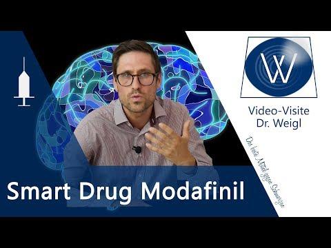 Weniger müde durch Modafinil - Als Smart Drug zum Gehirndoping 😬 & als Medikament bei Narkolepsie🤔
