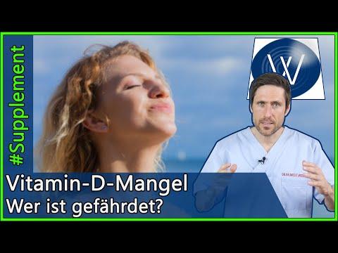 Vitamin D: Diese Menschen leiden unter Vitamin D Mangel - Funktion, Symptome & Unterversorgung