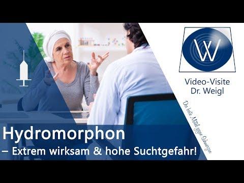 Wie gefährlich ist Hydromorphon (Palladon)?🤔 Sucht durch Opioide? Entzug, Wirkung & Nebenwirkungen