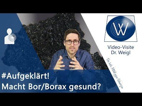 ⚡Irrsinn über Bor: Ist Borax ein Heilmittel (zB Arthrose) & ist ein Bormangel wirklich realistisch?