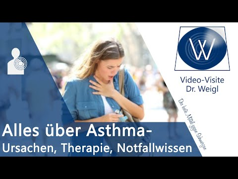 Asthma bronchiale - Ursachen, Symptome, Therapie & Notfallwissen: Was tun bei Asthma Anfall?