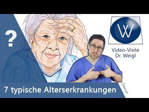 An diesen 7 Alterserkrankungen erkranken Sie wenn Sie alt sind: Arthrose, Glaukom, Rheuma, Demenz...