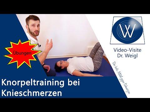 2 Übungen bei Knieschmerzen - Gezieltes Knorpeltraining bei Arthrose & Schmerzen im Knie innen/außen