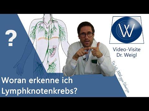 Harmlose Lymphknotenschwellung oder Lymphknotenkrebs? Tod durch geschwollenen Lymphknoten M. Hodgkin