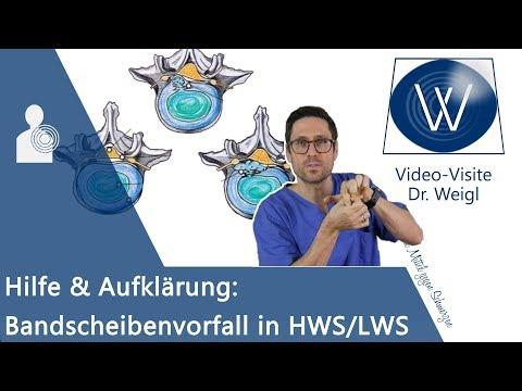 Prolaps: Rückenschmerzen durch Bandscheibenvorfall in HWS/ LWS ⚡ Symptome, Gefahren & Therapie