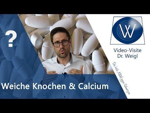 Mineralstoff Calcium & Calciummangel - Die wichtige Rolle von Vitamin D & Gefahren für Osteoporose