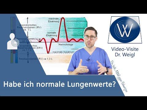Sind Ihre Lungenwerte gesund? So verstehen Sie Ihre Werte nach einem Lungentest (z.B. Spirometrie)