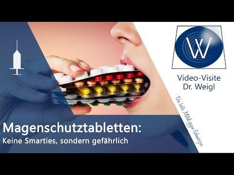 Magenschutztabletten Pantoprazol Omeprazol: Sind Magenschutzmittel/ Protonenpumpenhemmer gefährlich?
