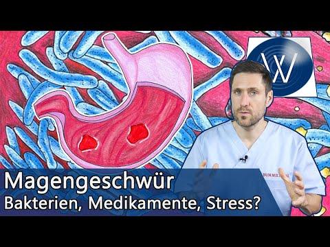 Magengeschwür: Wie gefährlich ist es & was kann ich dagegen tun? Ursachen & Therapie vom Magenulkus