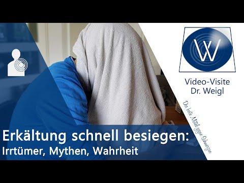Erkältung schnell loswerden ✅ Tipps bei grippalen Infekt 😷 Husten & Schnupfen erklärt & loswerden