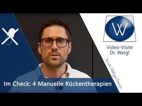 Chirotherapie & Manuelle Rückentherapie – Liebscher Bracht, Rolfing, Osteopathie bei Rückenschmerzen