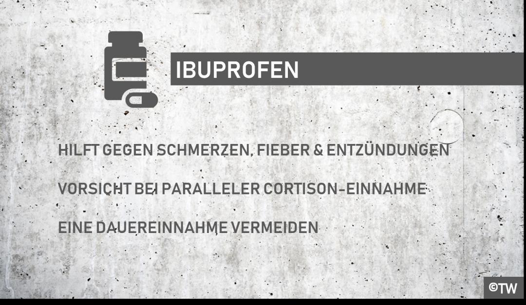 Wechselwirkung penicillin und ibuprofen