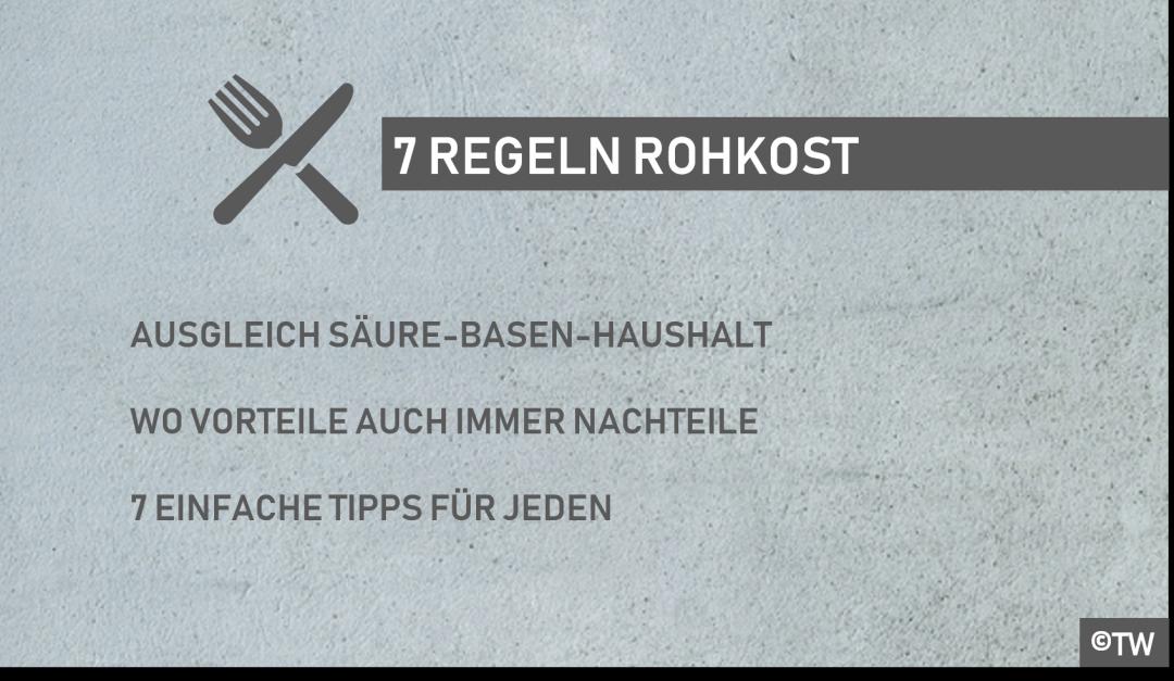 DoktorWeigl.de erklärt 7 Regeln auf dem Weg zur gesunden Ernährung ...