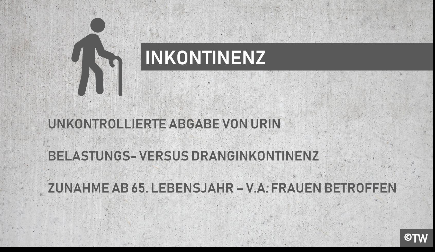 DoktorWeigl.de erklärt Blasenschwäche/Harninkontinenz