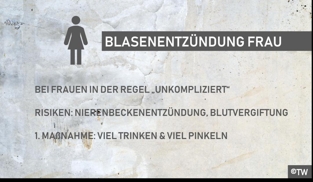 Brennen wasserlassen nach sexualverkehr