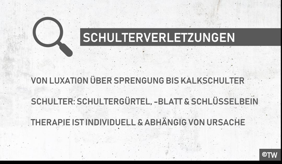 DoktorWeigl.de erklärt Schulterschmerzen & Schulterverletzungen ...