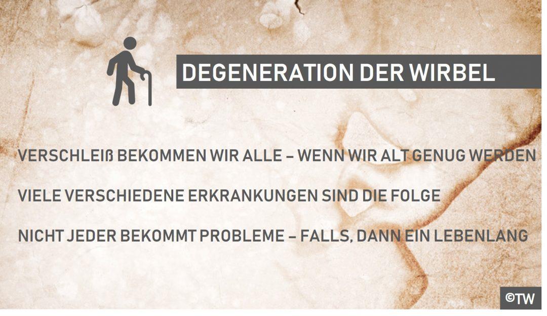 DoktorWeigl.de erklärt Die verschlissene Wirbelsäule - Degenerative ...