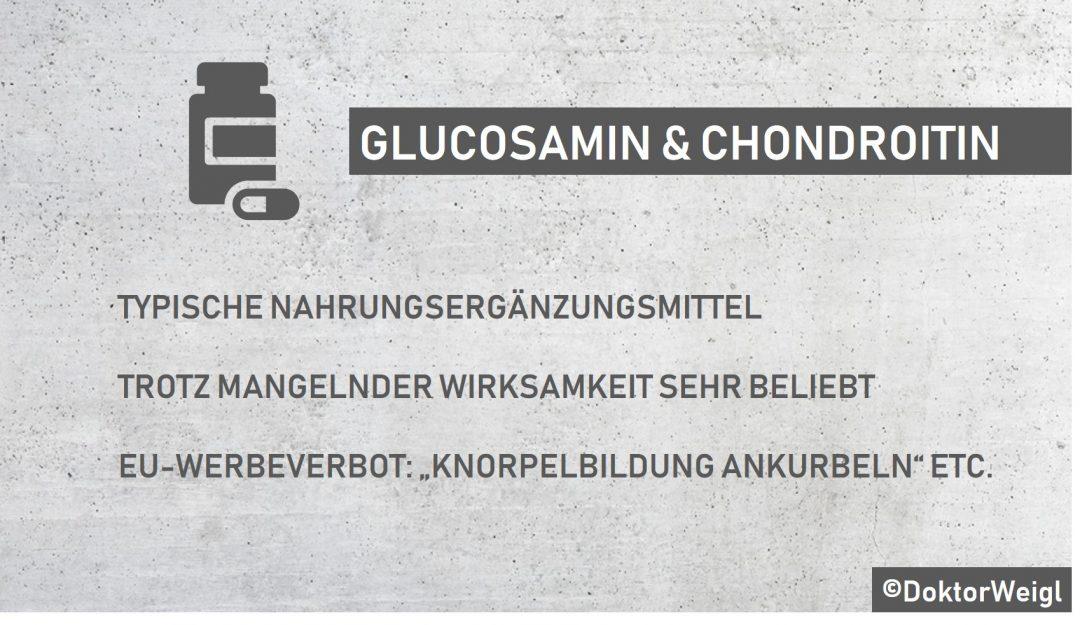 Preisvergleich Glucosamin Chondroitin Kapseln, 120 ST