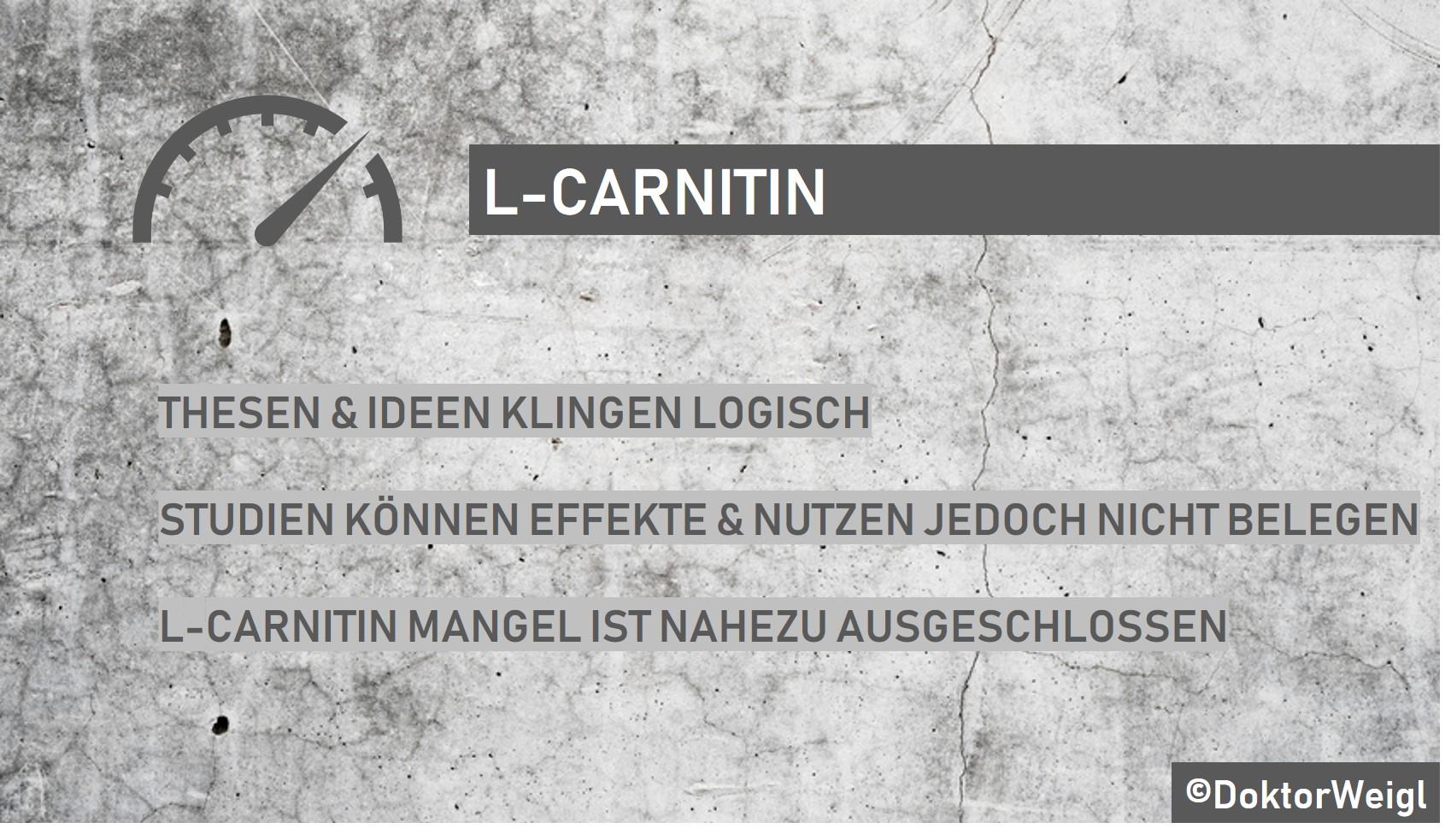 Wie man L-Carnitin zur Gewichtsreduktion verwendet