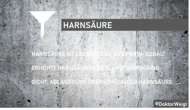 Harnsäure_Hyperurikämie