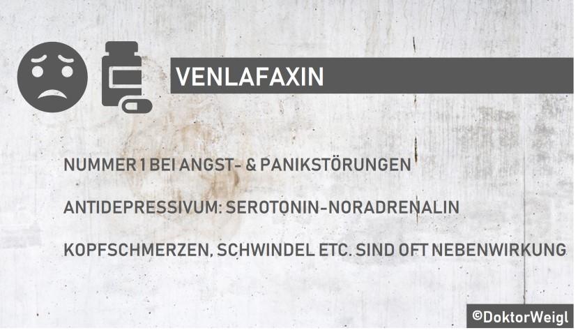 Venlafaxin_Wirkung_Nebenwirkungen_Antidepressivum