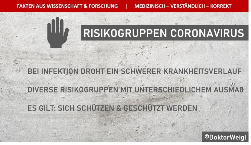 Risiko Gruppen Corona
